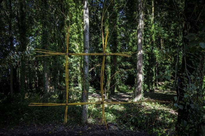 LAND ART 2012 : LA TOUCHE SOUS-BOIS