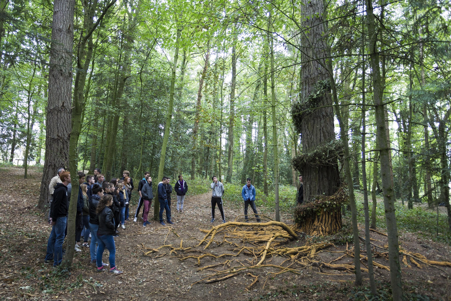 LAND ART 2016 AU LYCEE LA TOUCHE