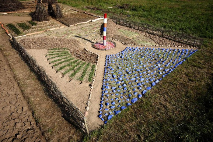LAND ART 2010 : KERGUEHENNEC