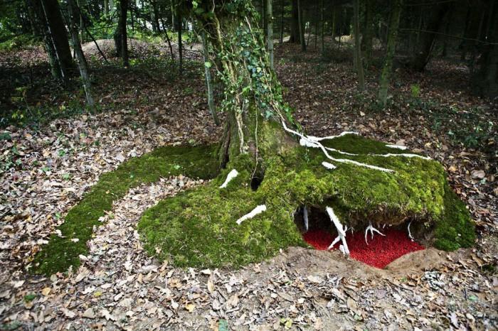 LAND ART 2011 : LA TOUCHE SOUS-BOIS