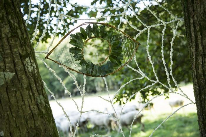 LAND ART 2015 : FERME LA CROIX HELLEAN